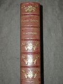 1908年R.D. Blackmore :Lorna Doone  布莱克摩尔经典爱情名著《洛娜•杜恩》3/4真皮豪华古董书  大量风景画插图