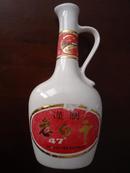 【七十年代老酒瓶收藏】衡水牌老白干(有提梁,器形奇特漂亮!)