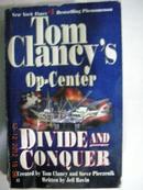 英文原版:Tom Clancy\s Op-Center:DIVIDE AND CONQUER
