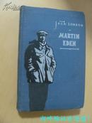 MARTIN EDEN    (印制考究 布面硬精装 1960年版 序及版权页为俄文  应是苏联出版印刷的英文书)