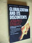 英文原版 大32开本  诺贝尔经济学奖得主     约瑟夫·斯蒂格利茨 Globalization and Its Discontents