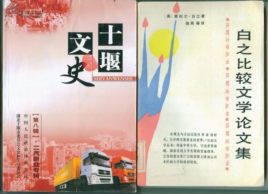 白之比较文学论文集(比较文学丛书)【馆藏】    - (包邮•挂)