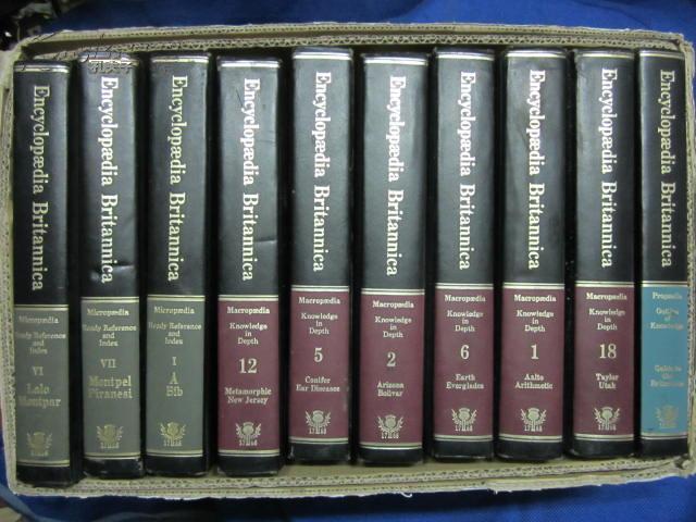 EncycIopedia Britannica/Micropedia Ready Reference and Index VI LaIo Montpar  【VI】