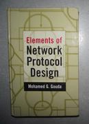 英文原版 Elements of Network Protocol Design by Mohamed G. Gouda 著