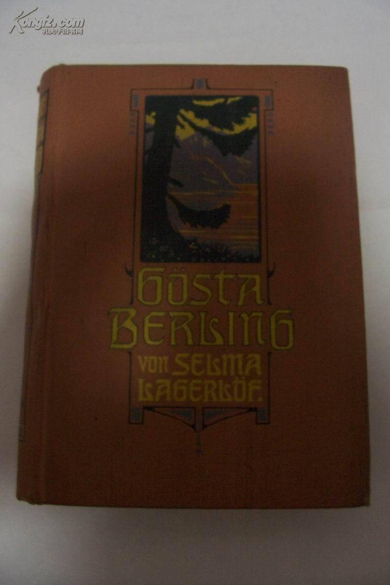 德文花体字 Gösta Berling\'s Saga