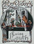 """德国艺术家""""Oskar Schwindrazheim""""线刻套色仕女藏书票—《窗台前的姑娘》  新艺术名作"""