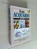 Il mio Acquario【我的水族馆,迪克·米尔斯,意大利文原版,16开精装本,精美彩色图文本】