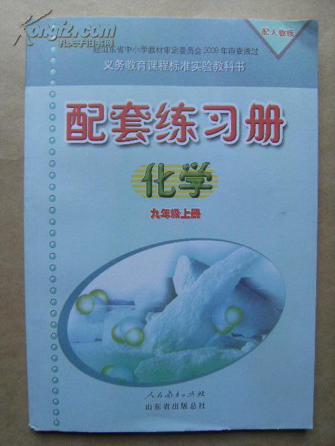 义务教育课程标准实验教科书 配套练习册化学(配人教版) 九年级上册