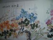 雪峰国画牡丹