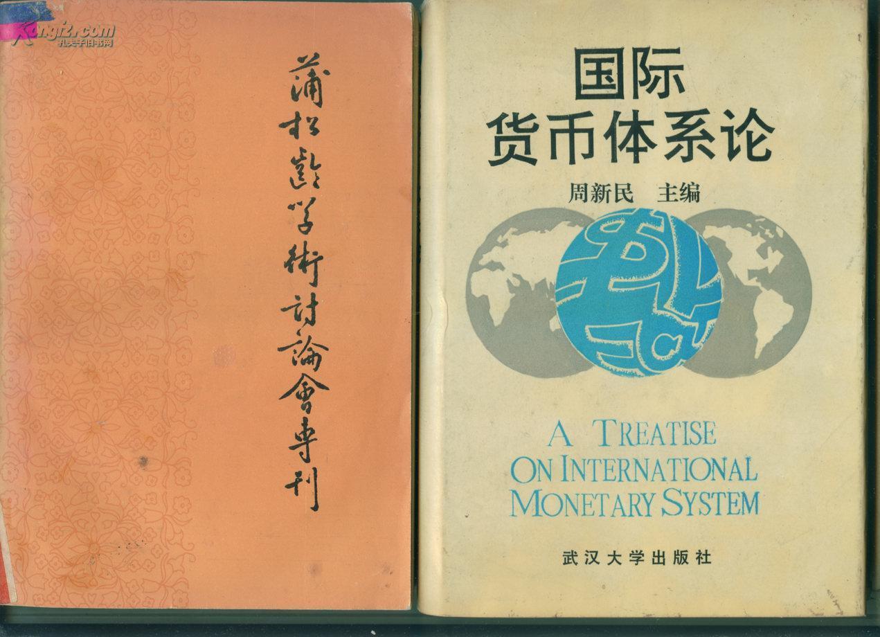 国际货币体系论 精装 附勘误表一份        (包邮•挂)