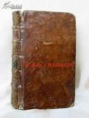 1780年版《LE SPECTACLE DE LA NATURE (2)》—36幅铜版画 大部分拉页设计 全皮装