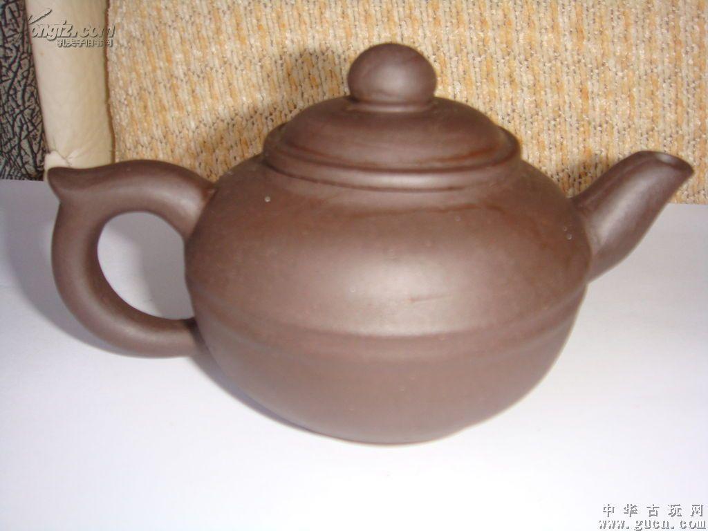 八十年代老紫泥紫砂壶(Z018)