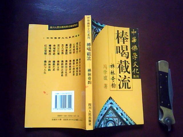 棒喝截流——禅林奇韵(中华佛学文化系列)
