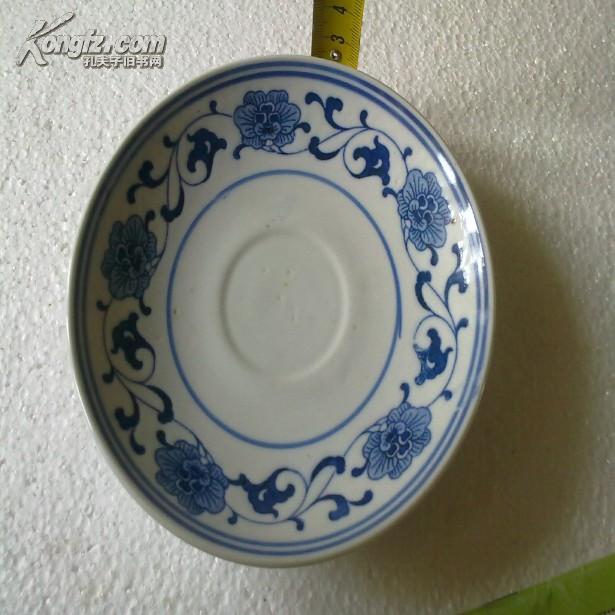 文革时期:景德镇 人民瓷厂 青花瓷盘  2.5-14厘米  详情看图