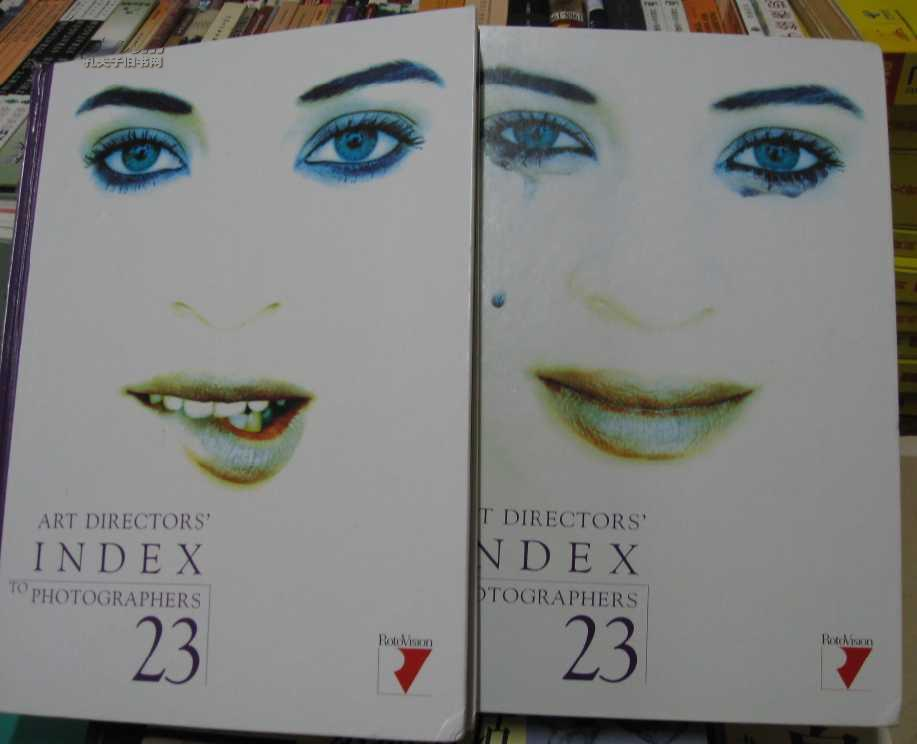 Art Director\'s Index to Photographers:(23 VOLUME 1,2)2本合售