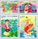 2012-20 民间传说-刘三姐 邮票