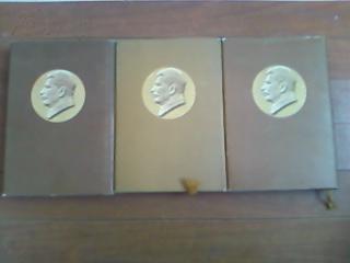 斯大林全集第一卷(硬精装紫红色布面带书衣斯大林像)繁体竖版 品佳