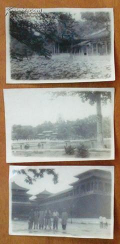 民国老照片  北京建筑风景3张