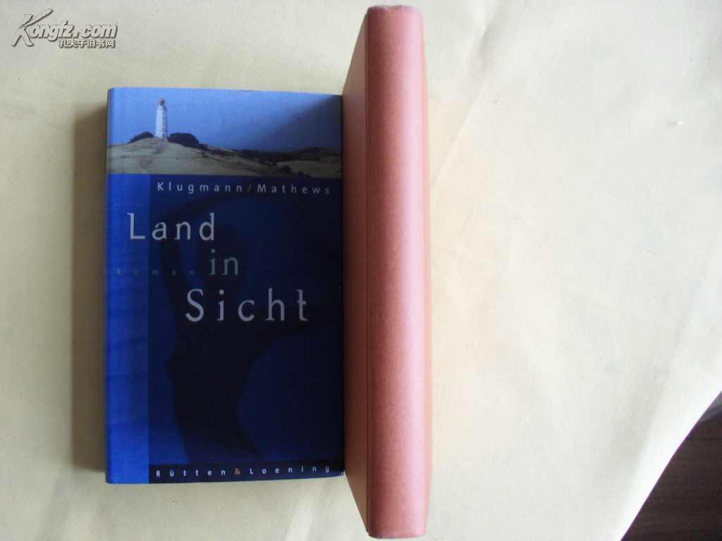 德文原版 精装       Land in Sicht by Klugmann, Norbert und Peter Mathews