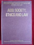 AIDS: Society, Ethics and Law(英语原版 精装本)艾滋病:社会、伦理和法律