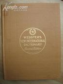 美国原装辞典 带拇指索引彩绘 新韦氏国际英语大词典 第二版) webster\s new international dictionary second edition