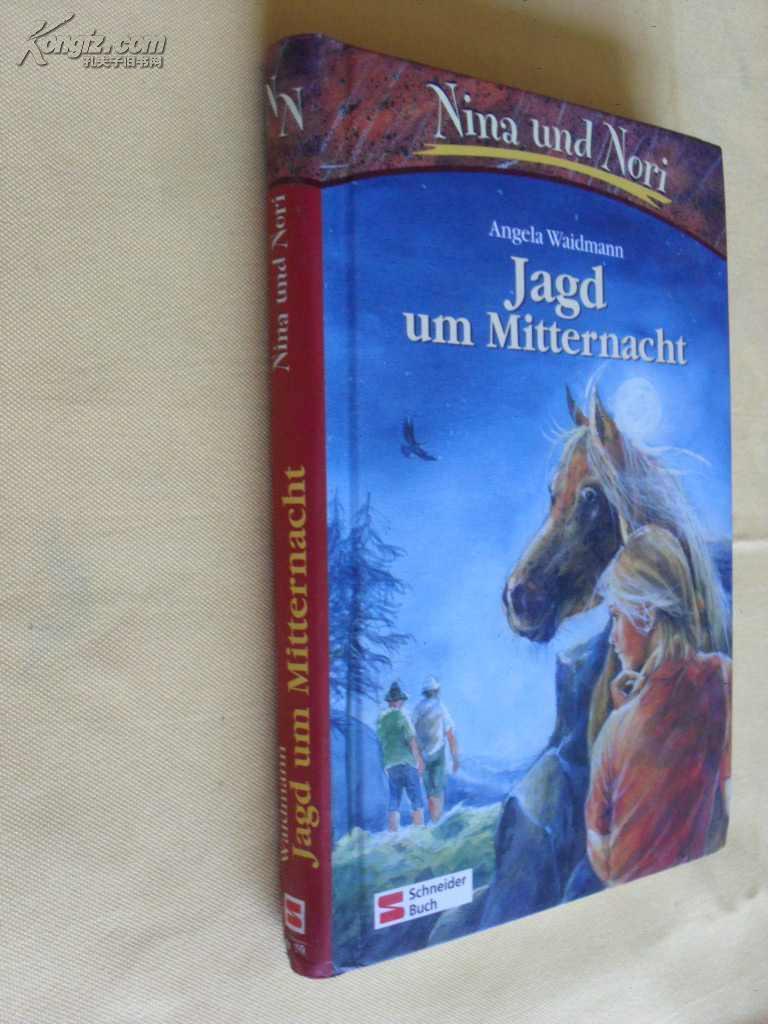 德文原版 附小插图        Nina und Nori. Jagd um Mitternacht Waidmann, Angela