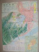 杭州市交通游览图1981版