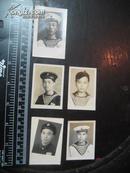 老照片:50年代海军军人5张