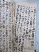 清代木版活字本老报纸一册20 京报  光绪31年6月18日皇太后七旬盛典等内容 尺寸22*9厘米