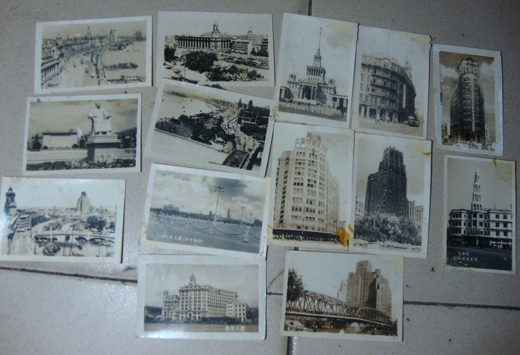 四五十年代老上海照片14张