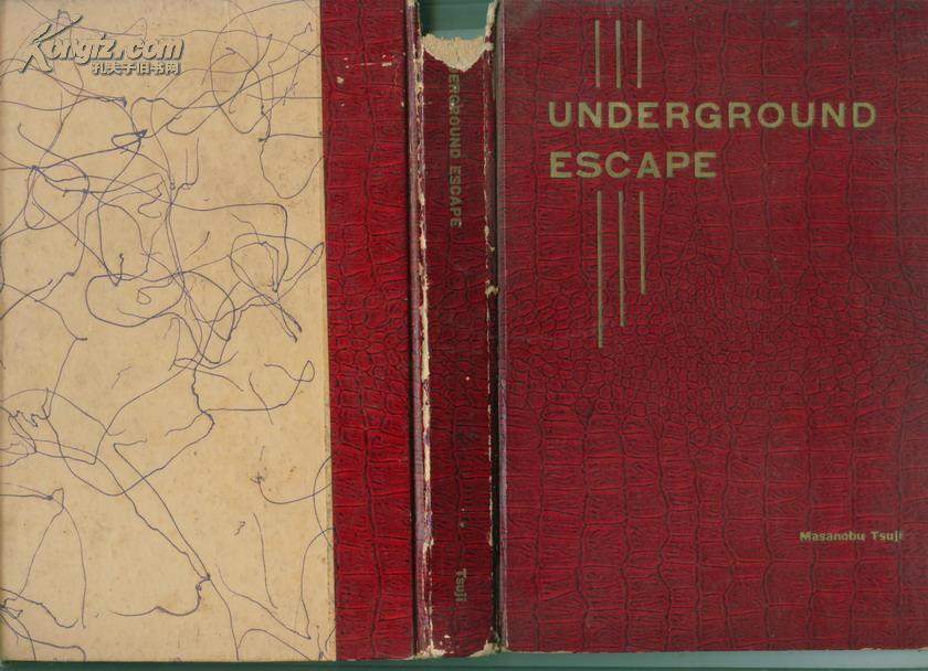 国外原版书:Underground Escape         ---- 【包邮-挂】