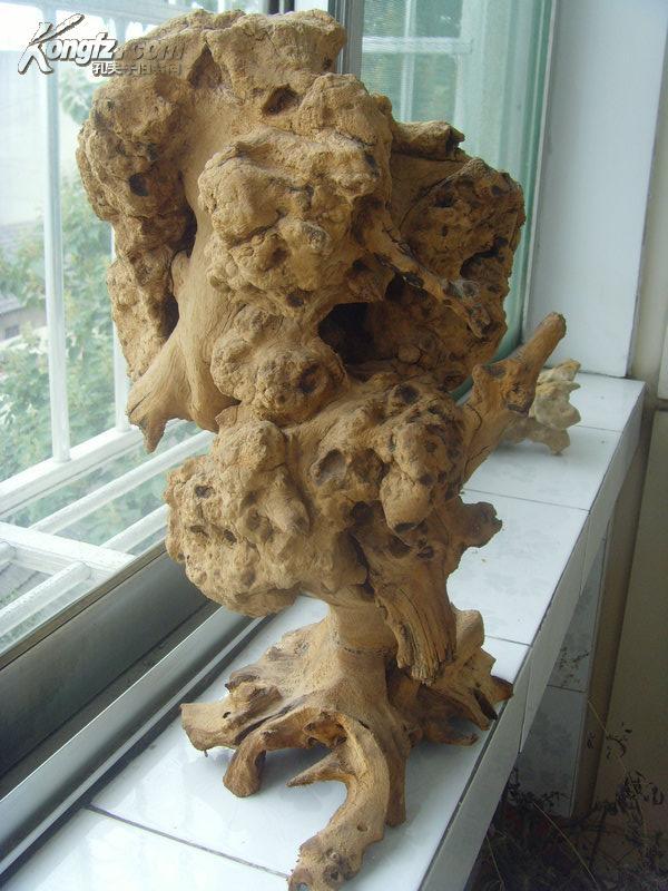 根雕摆件2:蘑菇云形