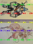 日版动漫 最终幻想9 Final FantasyⅨ 明信片
