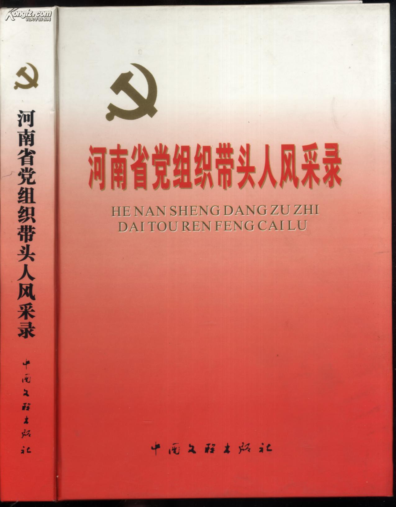 河南省党组织带头人风采录