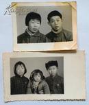 老照片:1960年代家人合影2张