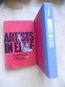 英文原版  大开本   流亡艺术家:     美国奥德赛  Artists in Exile: American Odyssey by Jane B. Katz