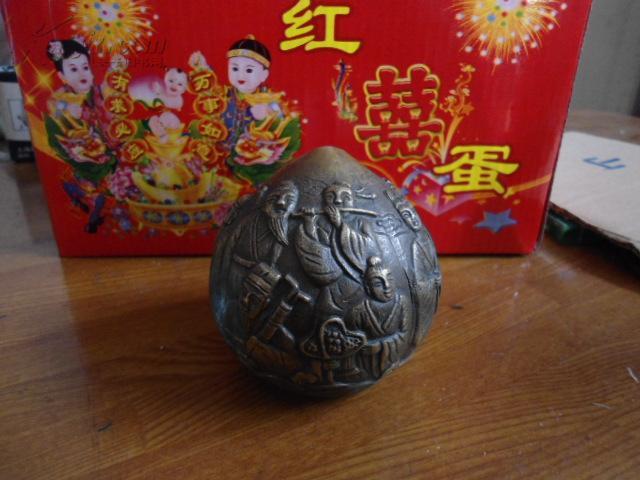 八仙祝寿  寿桃   寓意长寿   铜件 摆件