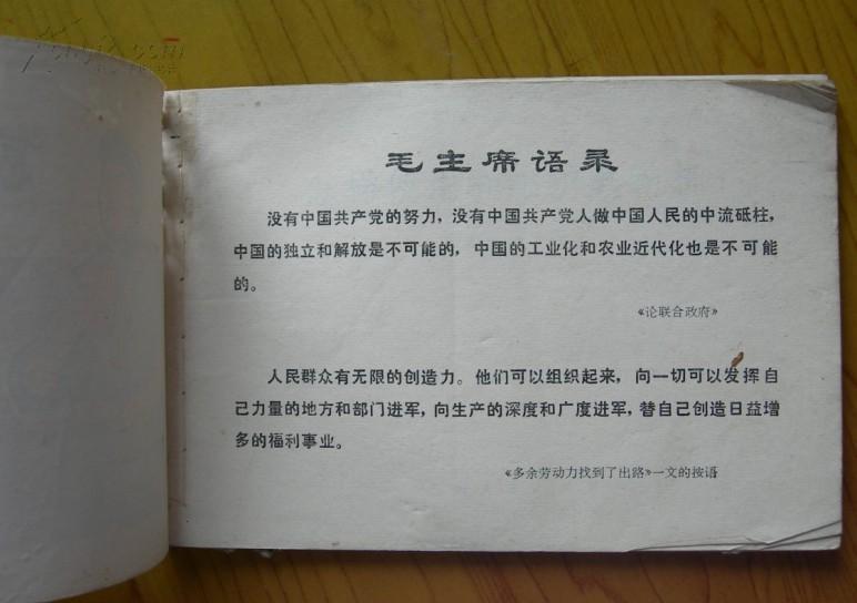 语录语录版《怎样使用和维护电动机(上海人民出版社)