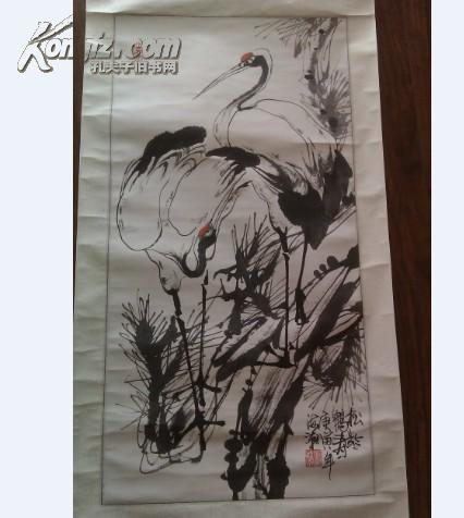 安徽名家张海潮 鹤