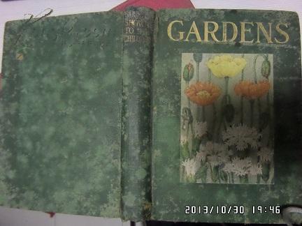 民国英文原版【GARDENS】花园   彩色插图 毛边本