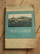南京山水地质 79年1版1印 包邮挂