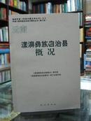云南自治县概况:漾濞彝族自治县概况 34册合售(详见描述)