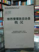 云南自治县概况:维西傈僳族自治县概况 34册合售(详见描述)