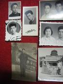 五六十年代原版老照片一组15张:看看那时的发型。