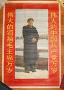 伟大的中国共产党万岁 伟大的领袖毛主席万岁.