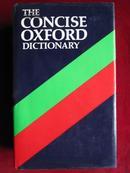 英国进口原装印刷词典 简明牛津辞典第7版The Concise Oxford Dictionary of Current English the 7th Edition Hardcover