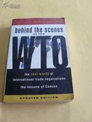 英文原版        Behind the Scenes at the WTO: The Real World of International Trade Negotiations/Lessons