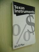 Texas Instruments BA Ⅱ Plus Guidebook