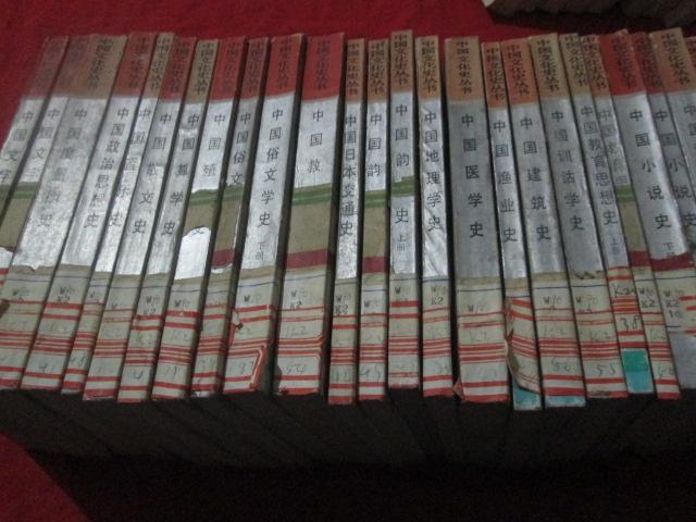 中国文化史丛书  25本不重复  合售     详见描述