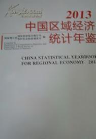 中国区域经济统计年鉴2013